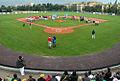 Zahajeni ME v Baseballu U21 v Třebíči Na Hvězdě v roce 2012.JPG