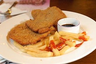 Haipai cuisine - Fried pork chop