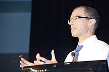 Ziv Bar-Joseph speaking at ISMB in 2012