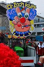 Karnevalszug Köln Rosenmontag