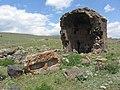 Zoravar (Gharghavank) Monastery, Church2.JPG