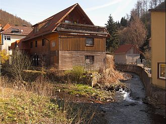 Zorge (river) - Image: Zorge Entstehung