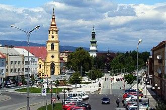 Zvolen - City centre of Zvolen