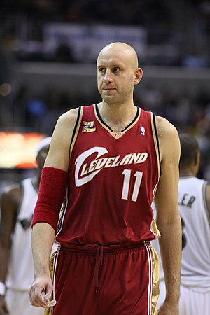 Zydrunas Ilgauskas - Ilgauskas with the Cavaliers in 2009