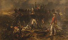"""""""Cambronne à Waterloo"""" d'Armand Dumaresq (Exposition Universelle de Paris 1867)"""