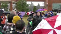 """File:""""Dump Trump"""" Protests Outside of Trump Rally in Bloomington, IL.webm"""