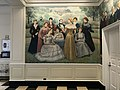 """Famous Beauties"" lobby mural (1956; Leon Kroll, painter), Shriver Hall (1954; Buckler, Fenhagen, Meyer and Ayers, architects), Johns Hopkins University (JHU) Homewood Campus, 3400 N. Charles Street, Baltimore, MD 21218 (47169460912).jpg"