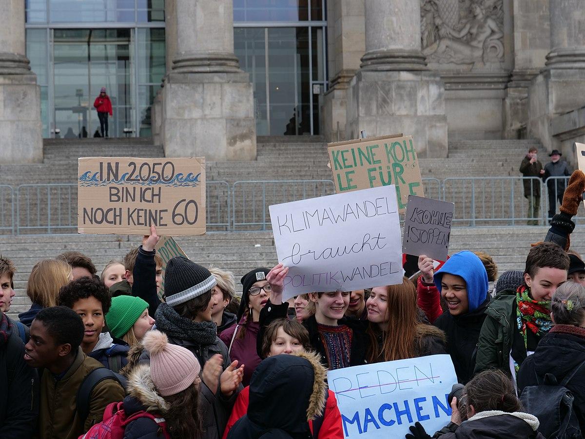 Greta Thunberg Wikipedia: Grève étudiante Pour Le Climat