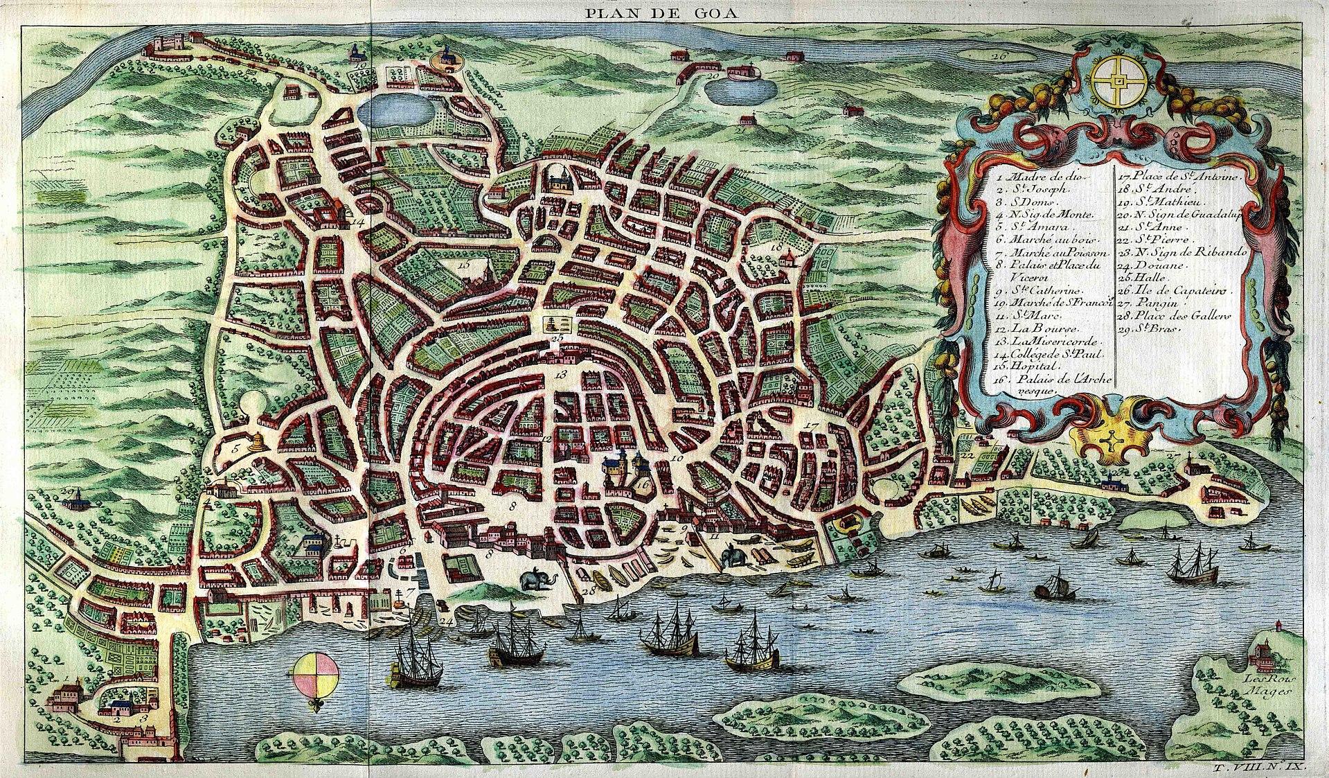 Portuguese conquest of goa wikipedia for Histoire des jardins wikipedia