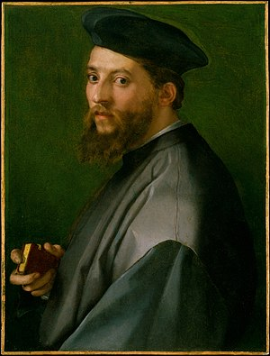 Minor Canon - Portrait by Andrea del Sarto, Metropolitan Museum of Art