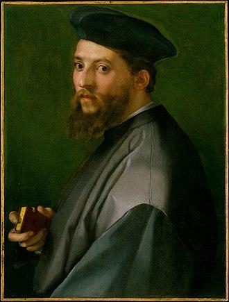 Minor Canon - Portrait by Andrea del Sarto, Metropolitan Museum of Art