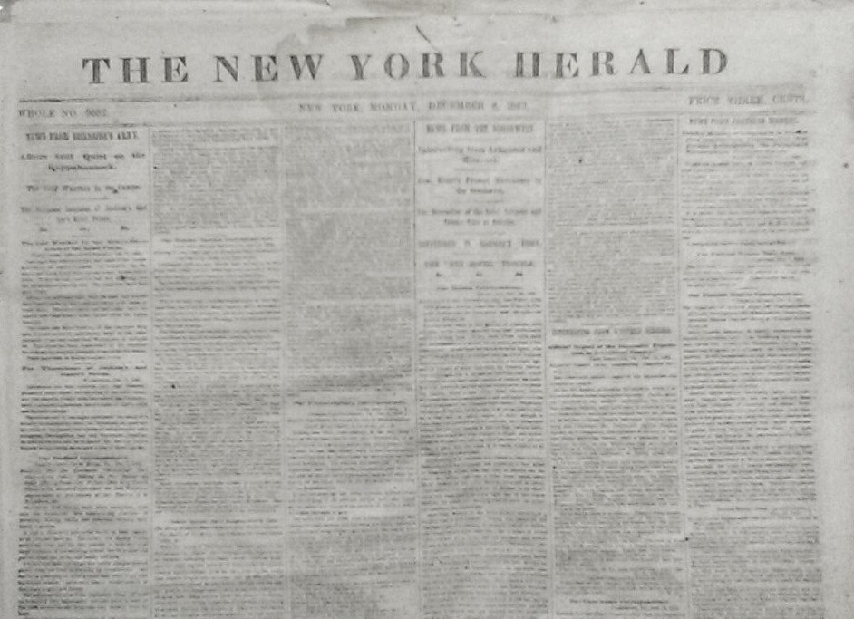 """The New York Herald"""
