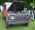 '93 Land Rover Defender (Hudson British Car Show '12).JPG