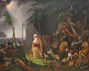 'Noah and His Ark' by Charles Willson Peale, 1819.JPG