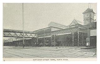 Cortlandt Street Ferry Depot