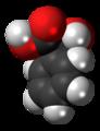 (S)-Mandelic acid molecule spacefill.png