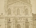 Édouard Baldus, Louvre, facade of a pavillion - Getty Museum.jpg