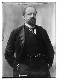 Édouard de Reszke Polish singer