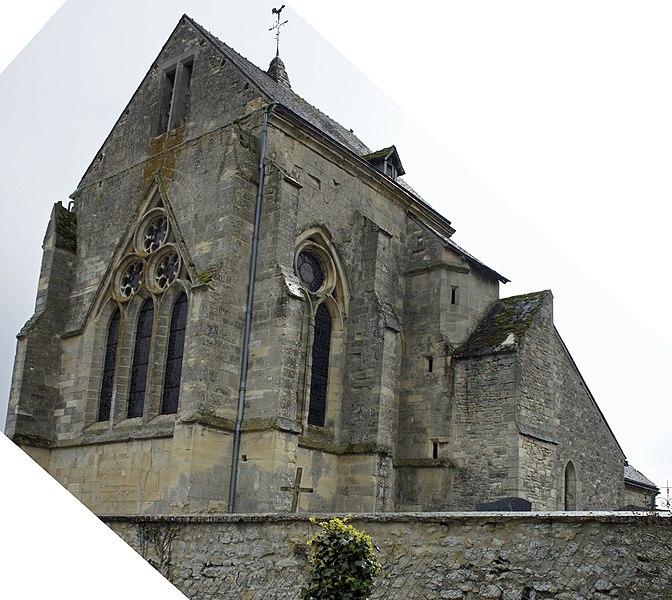 Église de Pévy.