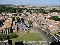 Église Saint-Gimer de Carcassonne et Barbacane de l'Aude - 2014.JPG