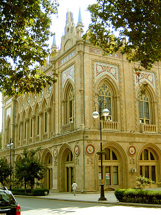Azerbaijan National Academy of Sciences - Presidium of the Azerbaijan National Academy of Sciences in Baku