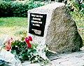 Świnoujście-kamien pamiatkowy AB Chodorkowska.jpg