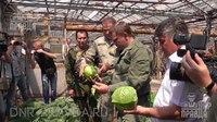 File:Александр Захарченко посетил ГП «Теплицы Донбасса».webm