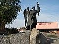 Барысаў. Помнік заснавальніку горада Барысу Усяславічу.jpg