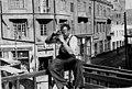 Вид на ул.Мясникова с балкона летнего кинотеатра Красный Восток. Баку, 1938 год.jpg