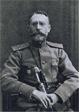 Konstantin Lukich Gilchevsky - Image: Генерал майор Константин Лукич Гильчевский с наградным Георгиевским оружием
