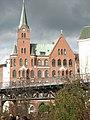 Германия (Deutschland), Гамбург (Hamburg), Ditmar-Koel-Straße,2, Шведская церковь Густава Адольфа (Schwedische Gustav-Adolf-Kirche), 14-16 23.10.2007 - panoramio.jpg