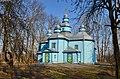 Горбулів. Миколаївська церква - шедевр народної архітектури. 1746 р.jpg