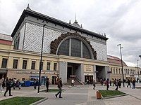 Киевский вокзал вход в метрополитен 2019.jpg