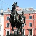Клодтовы кони Аничков Мост 01.jpg