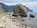 "Курортное. Камень ""Арбуз"" на Кара-даге. 12-08-2009г. - panoramio.jpg"