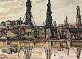 К.В. Богаевский. Баку. Нефтяные вышки. 1931.jpg