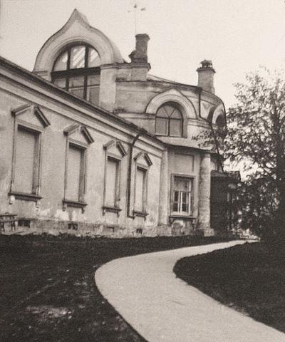 Дом-мастерская художника И. И. Левитана в Трёхсвятительском переулке. Фото 1890-х годов