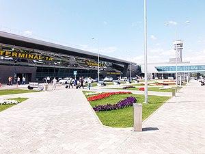 Kazan International Airport - Image: Привокзальная площадь аэропорта Казань