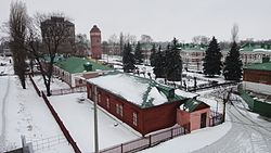 Square in Lev Tolstoy, Lev-Tolstovsky District