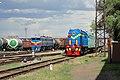 ТЭМ2-5842, Казахстан, Западно-Казахстанская область, станция Уральск (Trainpix 162980).jpg