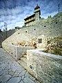Флигель со смотровой башней дворца Е.И.В. Принца А.П. Ольденбургского в Гаграх. Снимок сделан к 145-летию величайшего зодчего.jpg