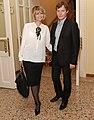 Юлия Меньшова и Игорь Гордин. Фотограф Геннадий Авраменко 2012.jpg