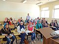 مجموعة عمل الطلبة ضمن برنامج اللغة الروسية في الجامعة الاردنية 05.JPG