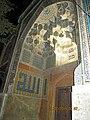 نمای بی نظیر از کاشیکاری و هنر معماری ایرانی اسلامی مسجد علیقلی آقا.jpg