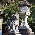 八幡神社の狛犬 下市町下市(今在家) 2013.2.09 - panoramio.jpg