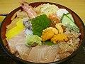 活魚料理 東屋 特上ちらし寿司 - panoramio.jpg