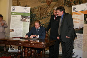 Saiga Antelope Memorandum of Understanding - Signing of the Saiga Antelope MoU by the Russian Federation, 24 June 2009