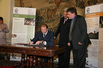 Saiga Antelope Memorandum of Understanding - Signing of the Saiga Antelope MoU by the Russian Federation, 24 June 2009