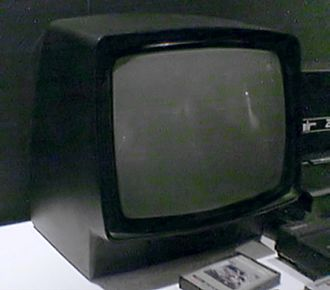 Timex Sinclair - Neptun 156 monitor. It came in matching black or grey colours.