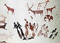 064 Pintures de la cova dels Moros, exposició al Museu de Gavà.JPG